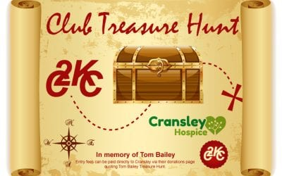 KCC Tom Bailey Treasure Hunt in support of Cransley Hospice