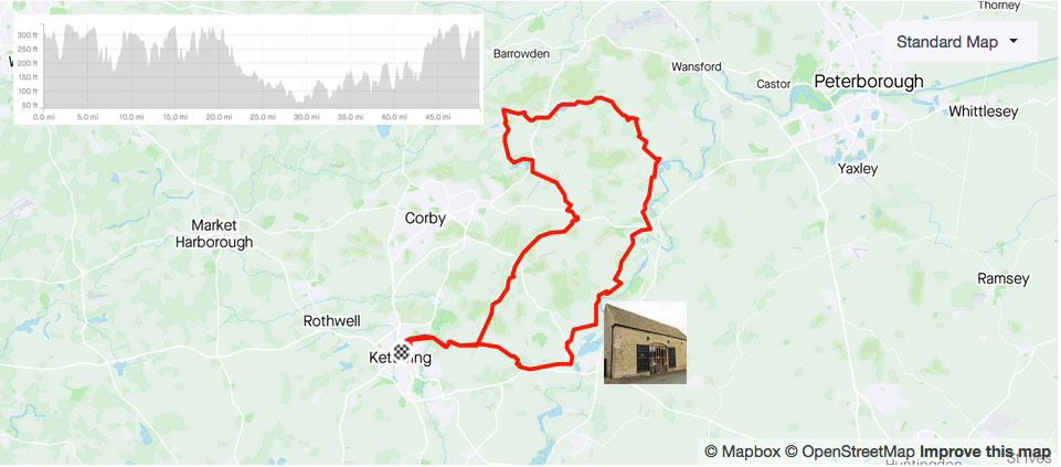 Sunday club ride : training pace with Andy Parker