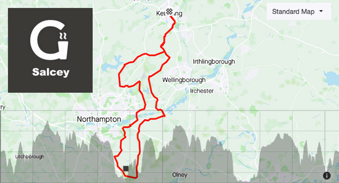 Sunday down to Grounds Café : training ride with Andy Parker